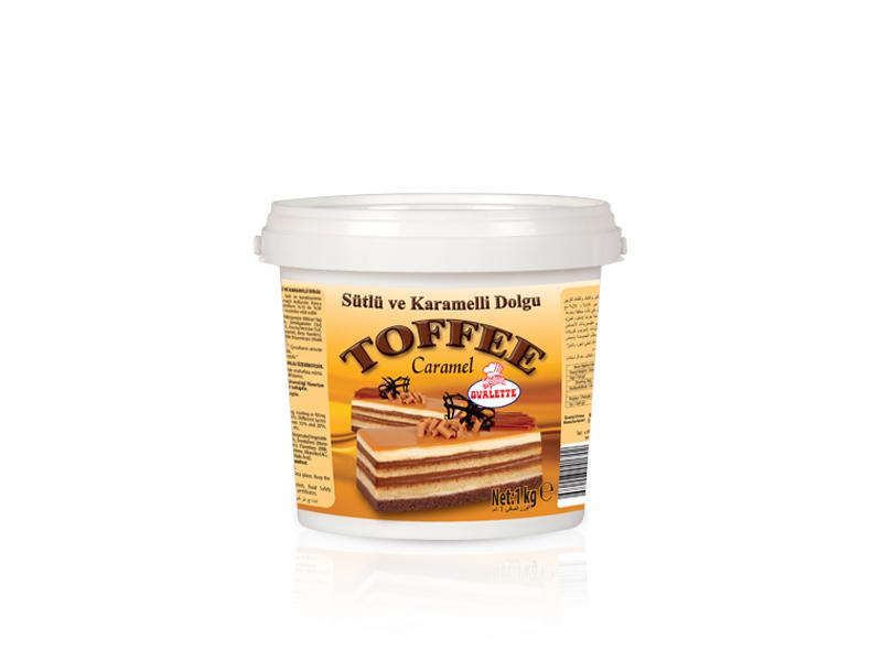 OVALETTE Toffee Sütlü Karamelli Dolgu 1 Kg