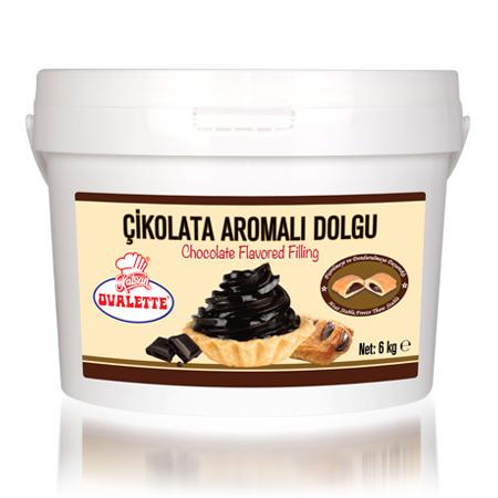 OVALETTE Çikolata Aromalı Dolgu 6 Kg