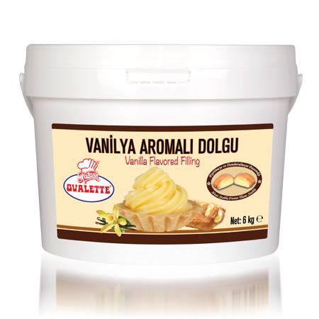 OVALETTE Vanilya Aromalı Dolgu 6 Kg