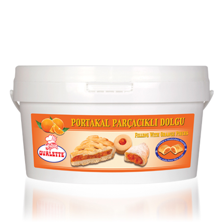 OVALETTE Portakal Parçacıklı Dolgu 4 Kg