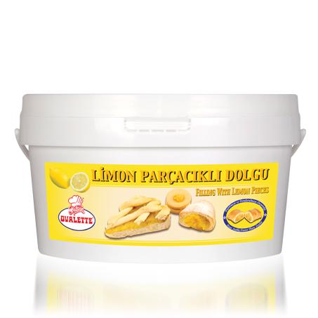 OVALETTE Limon Parçacıklı Dolgu 4 Kg