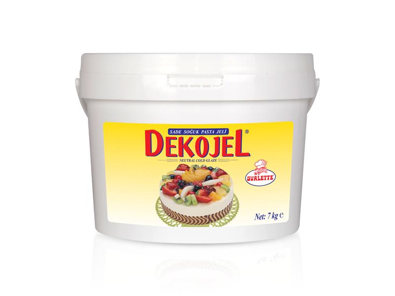 DEKOJEL Sade Soğuk Pasta Jeli 7 kg