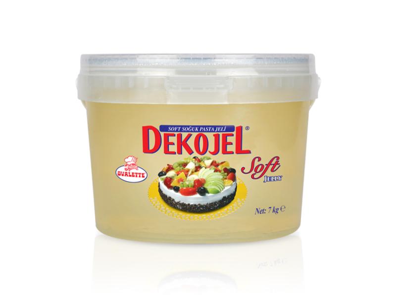 DEKOJEL Soft Soğuk Pasta Jeli 7 Kg