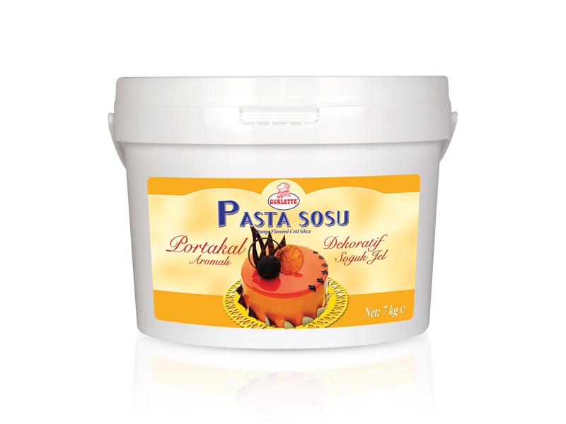 OVALETTE Portakal Aromalı Dekoratif Soğuk Jel 7 Kg