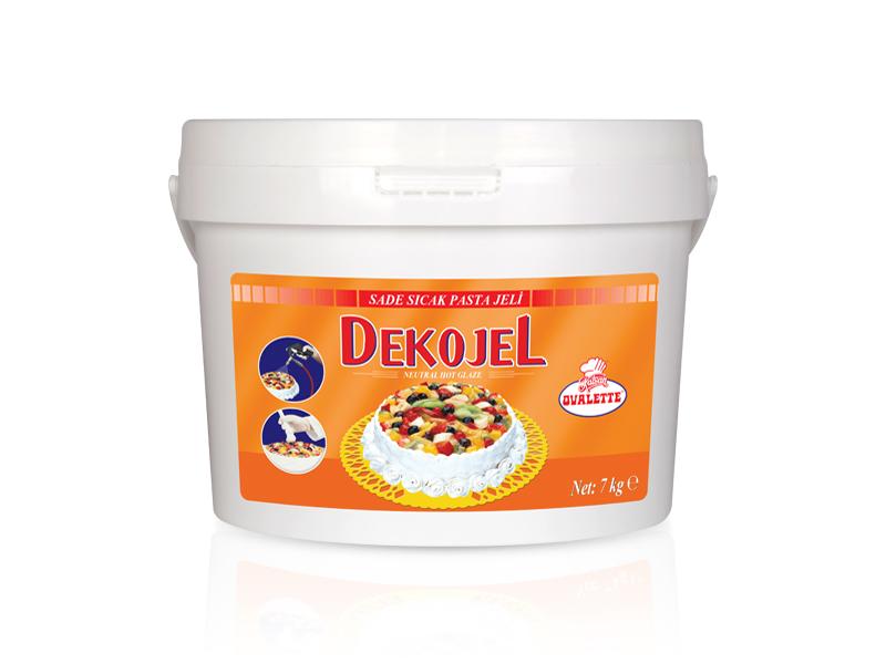DEKOJEL Sade Sıcak Pasta Jeli 7 Kg