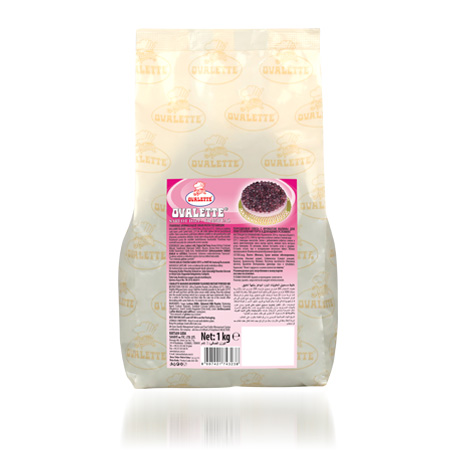 OVALETTE Frambuaz Aromalı Şarlot Tozu 1 kg