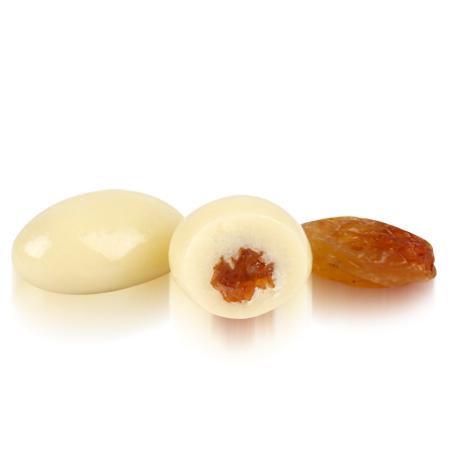 OVALETTE Beyaz Çikolatalı Üzüm Draje 1 Kg