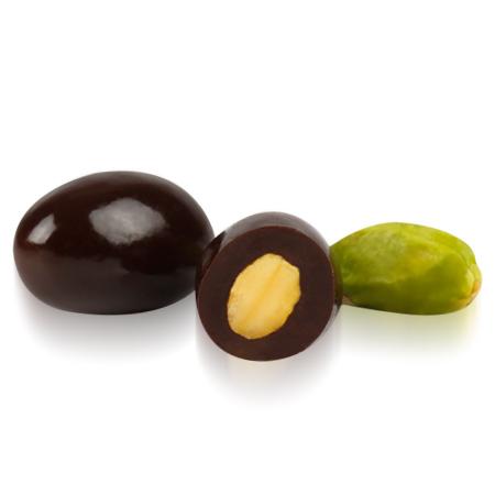 OVALETTE Bitter Çikolatalı Antepfıstığı Draje 1 Kg