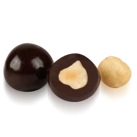 OVALETTE Bitter Çikolatalı Fındık Draje 1 Kg