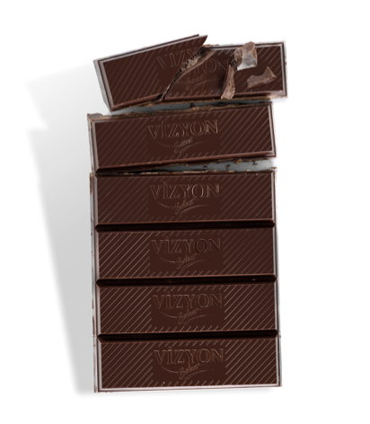 VİZYON Select %55 Bitter Kuvertür Çikolata 2.5KG