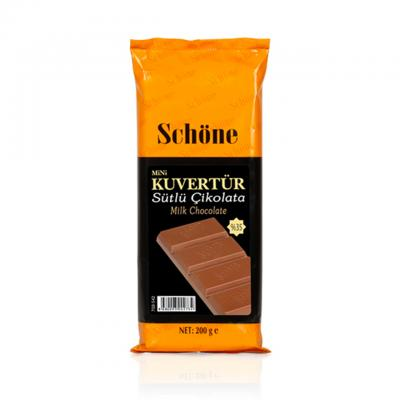 SCHÖNE Sütlü Çikolatalı Mini Kuvertür 200 Gr