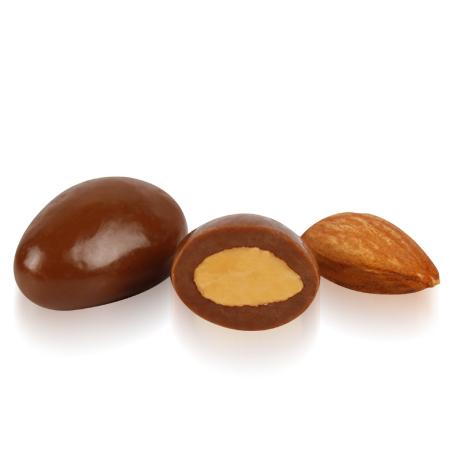 OVALETTE Sütlü Çikolatalı Badem Draje 1 Kg