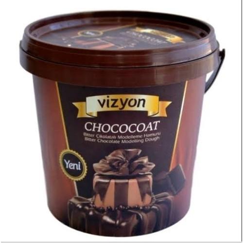 VİZYON CHOCOCOAT Bitter Çikolatalı Modelleme Hamuru 1KG