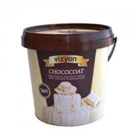 VİZYON CHOCOCOAT Fildişi Çikolatalı Modelleme Hamuru 1KG