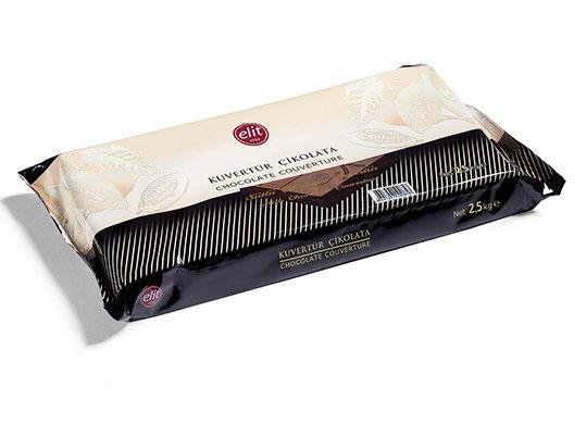 ELİT Sütlü Çikolatalı Kuvertür 2.5 Kg