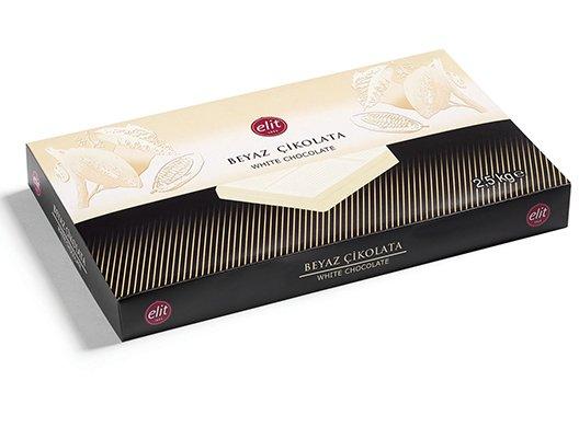 ELİT Beyaz Çikolatalı Kuvertür 2.5 Kg