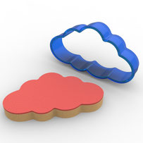 Bulut Polikarbon Kopat Kurabiye Kalıbı