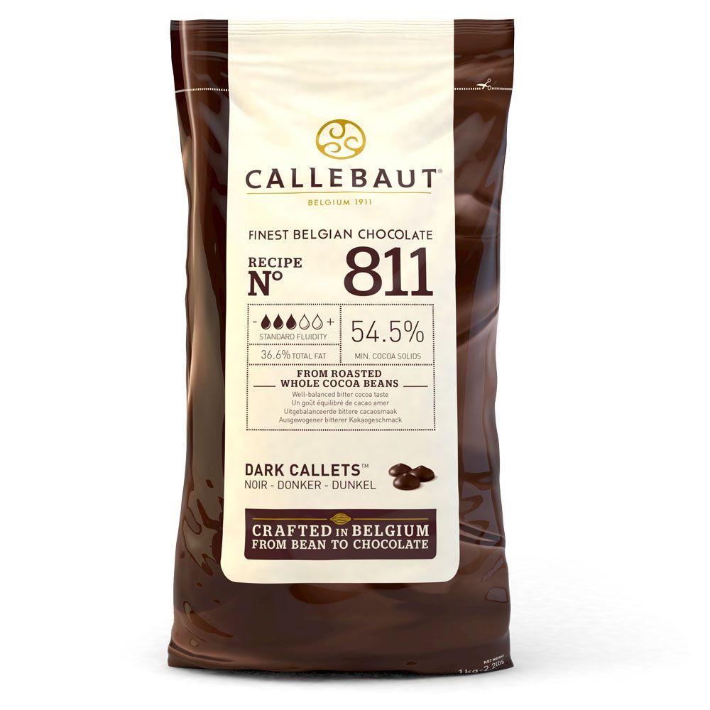 CALLEBAUT Bitter Drop Çikolata 811 1 KG