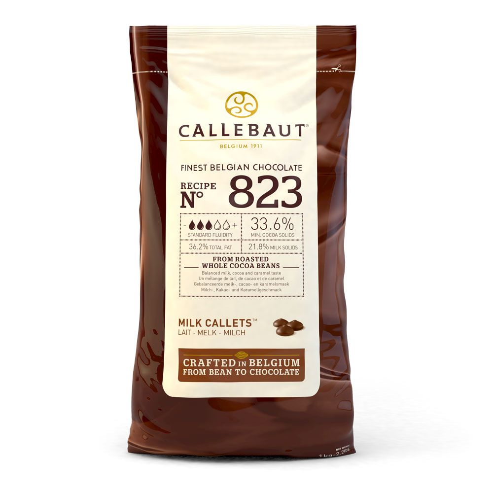 CALLEBAUT Sütlü Drop Çikolata 823 1 KG