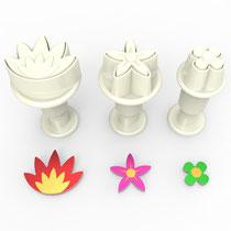 Çiçekler 3'lü Mini Enjektörlü Kopat