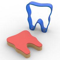Diş Polikarbon Kopat Kurabiye Kalıbı