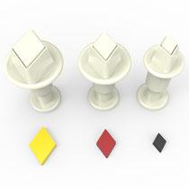 Elmas 3'lü Mini Enjektörlü Kopat