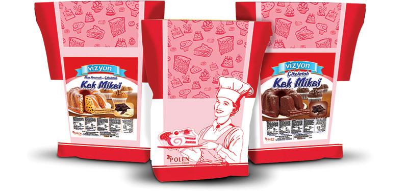 VİZYON Kakaolu Muffin Miks 10 Kg