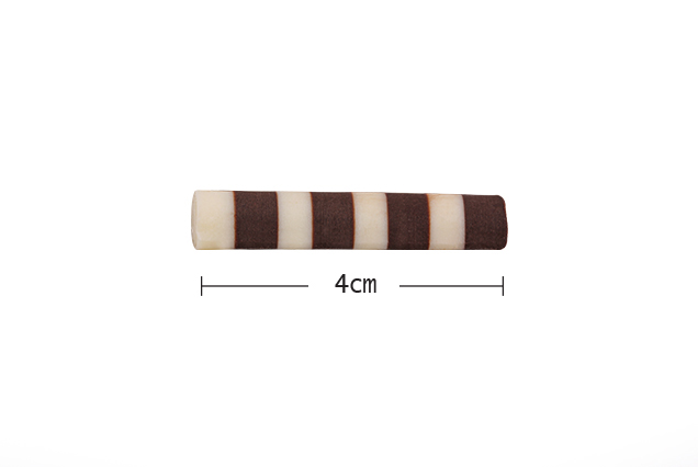 BARLO Bitter Çizgili Beyaz Mini Rulo 1.5 Kg