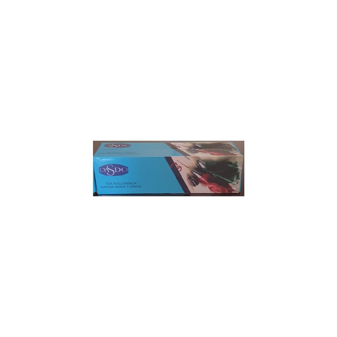 PASDO Tek Kullanımlık Krema Sıkma Torbası (26×63)