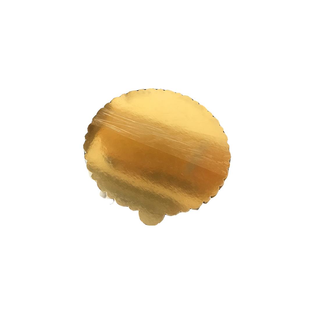 Pasta Altlığı 26 CM Gold Mendil 50 Adet