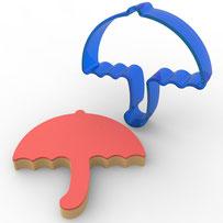 Şemsiye Polikarbon Kopat Kurabiye Kalıbı