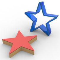 Yıldız Polikarbon Kopat Kurabiye Kalıbı