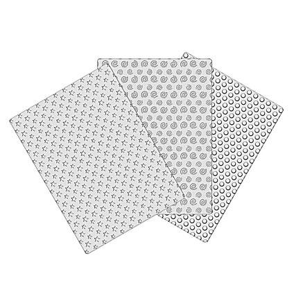 Doku Kalıbı Set 3 Yıldız/Spiral/Yuvarlak