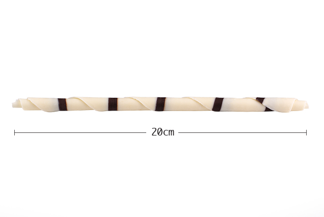 BARLO Zebra Desenli Kalem Çikolata 600 Gr