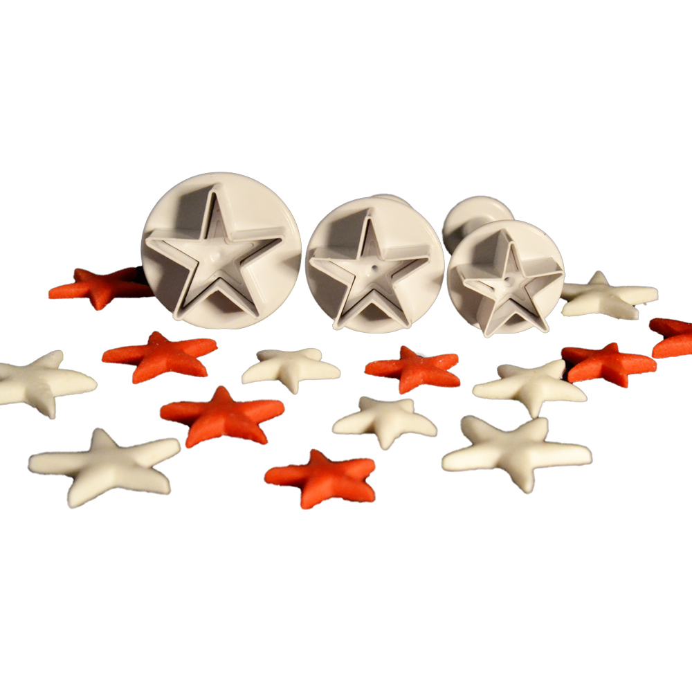 3'lü Yıldız Şekilli Basmalı Kopat Seti