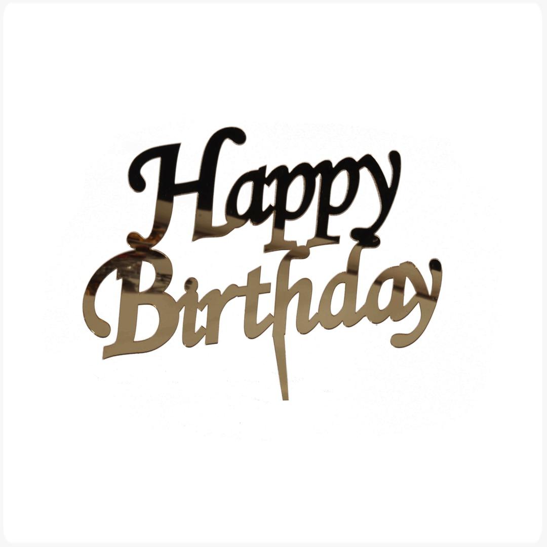 Happy Birthday-2 Altın
