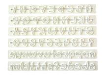 İtalik Alfabe Cetvel Set 6 Parça Tüm Harfler ve Rakamlar