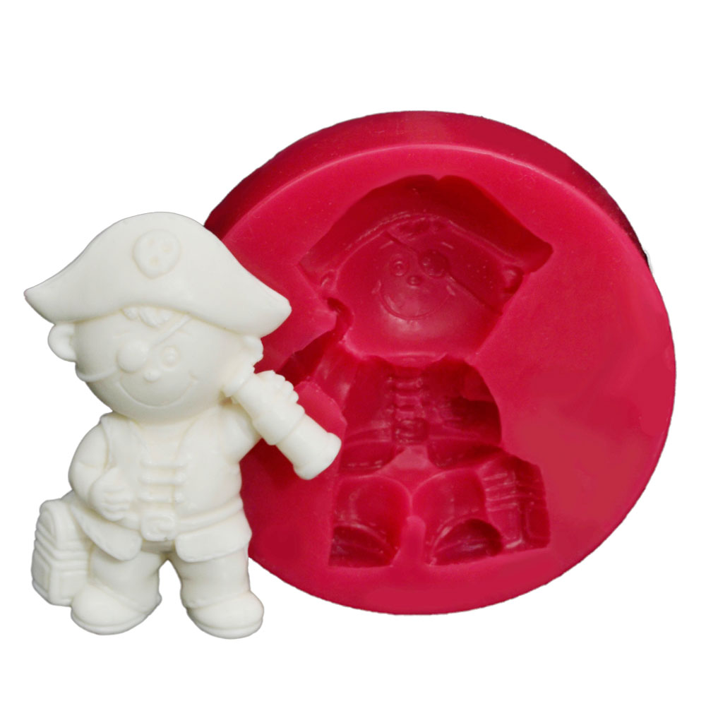 CESİL Korsan Bebek Kokulu Taş ve Sabun Kalıbı (5,5*4Cm)