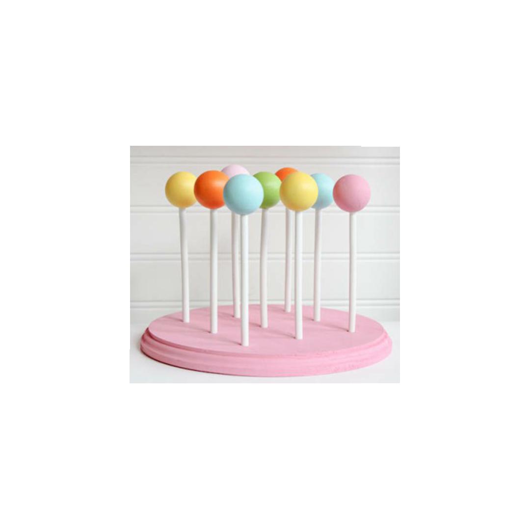 Lolipop-Cakepop Çubuğu Çentikli 50'li (Kısa)