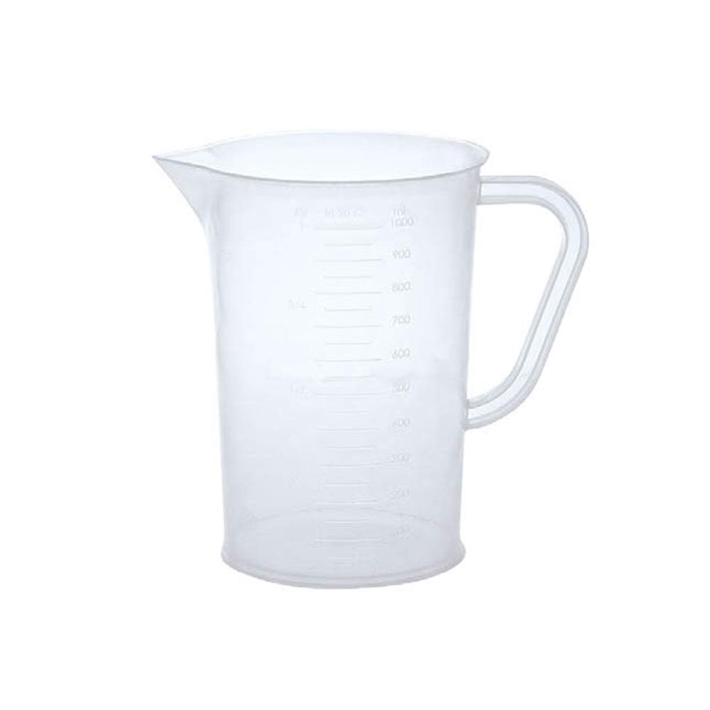 Plastik Ölçü Kabı Karaf – 1 Lt