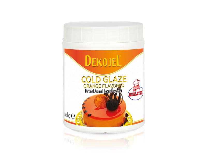 OVALETTE DEKOJEL Portakal Aromalı Soğuk Pasta Jeli 1 Kg