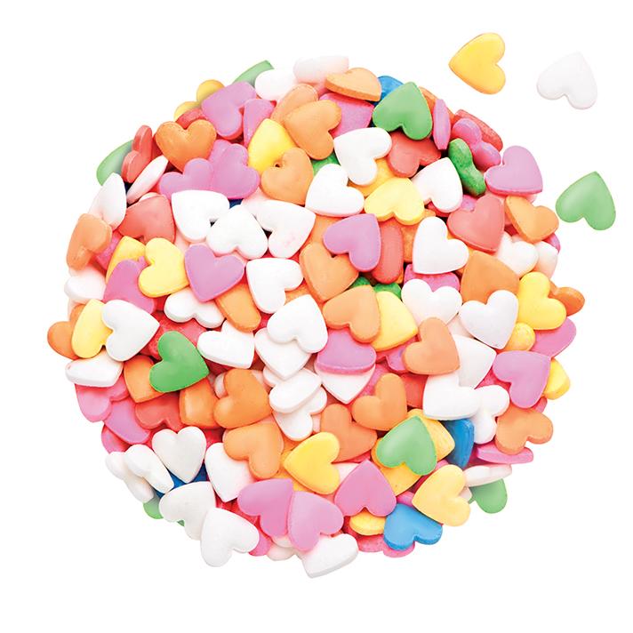 DR GUSTO Renkli Minik Kalpler Şeker 90 gr