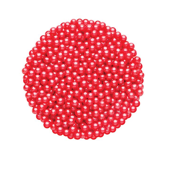 DR GUSTO 2 mm Kırmızı Boncuk Şeker 45 gr