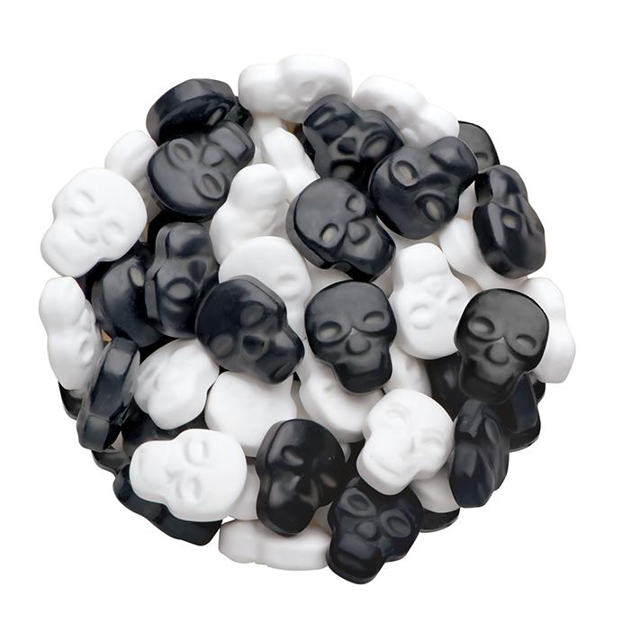 DR GUSTO Siyah Beyaz Kuru Kafa Şeker 90 gr