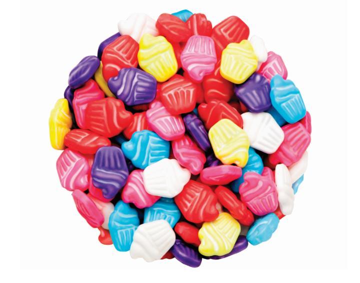 DR GUSTO Renkli Cupcake Şeker 90 gr
