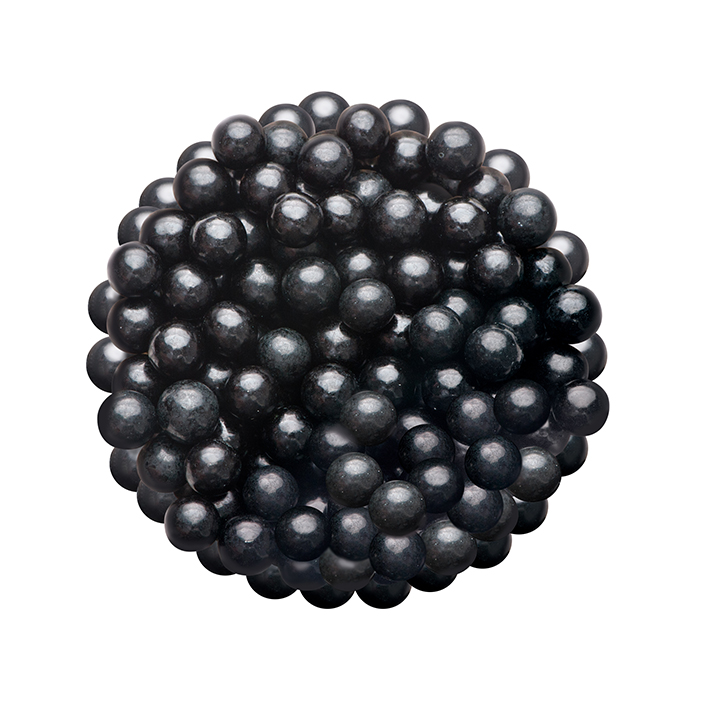 DR GUSTO 8 mm Siyah Boncuk Şeker 45 gr