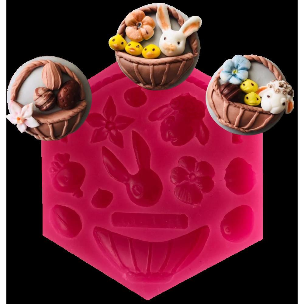 CESİL Hayvanlar Alemi Set – 3 Şeker Hamuru Modelleme Kalıbı