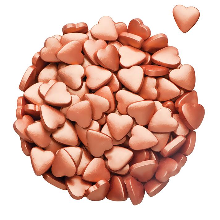 DR GUSTO Özel Seri Kalp Bakır Şeker 90 gr