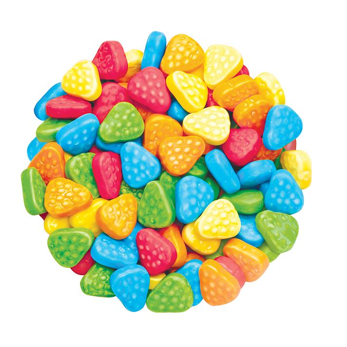 DR GUSTO Renkli Çilek Şeker 90 gr