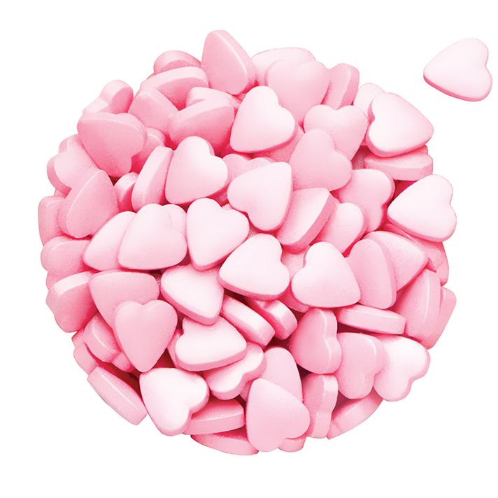 DR GUSTO Özel Seri Kalp Pembe Şeker 90 gr